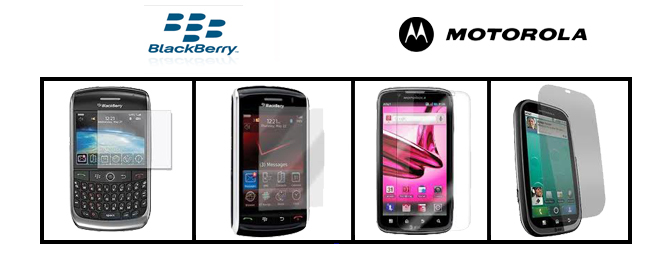 ΠΡΟΣΤΑΣΙΑ ΟΘΟΝΗΣ SCREEN PROTECTOR BLACKBERRY MOTOROLA